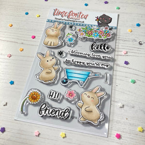 Blooming Bunnies Stamp and Die Collection