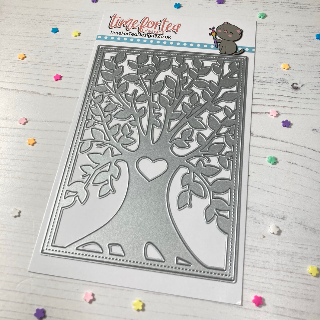 Tree of Love Cover Plate Die