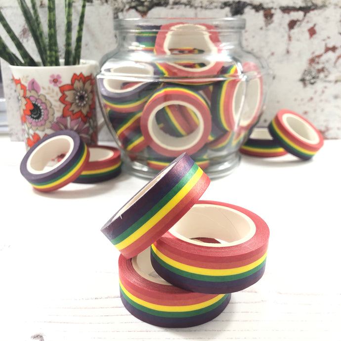 Washi Tape - Rainbow Pack of 3