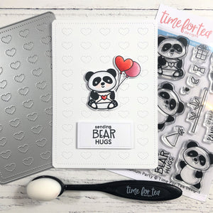 Dotty Hearts Cover Plate Die