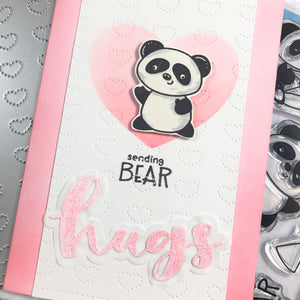 Pandamonium Party Clear Stamp Set