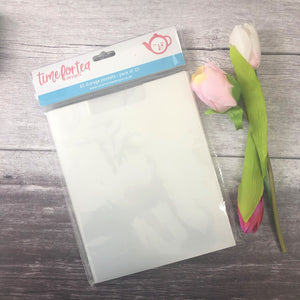 Clear Storage Pockets A5 - Pack of 20