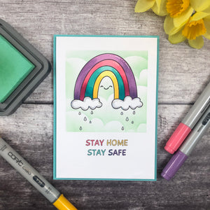 Stay Safe Rainbow Digi Collection