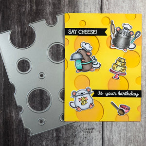 Say Cheese Cover Plate Die