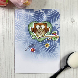 Be Owlsome A7 Clear Stamp Set