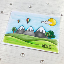 Load image into Gallery viewer, Grateful For You Landscape Clear Stamp Set
