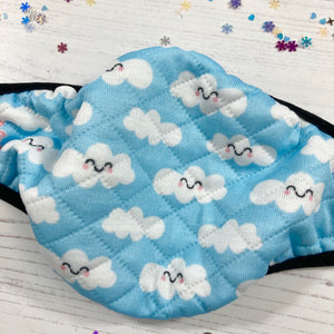 Cloud Print T4TD Face Mask
