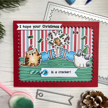Load image into Gallery viewer, Catmas Crackers Stamp and Die Collection