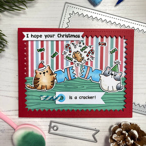 Catmas Crackers Stamp and Die Collection