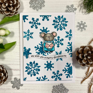 Carolling Critters Stamp and Die Collection