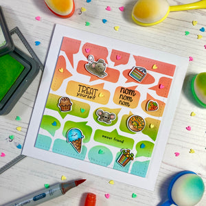 Treat Yourself Clear Stamp Set