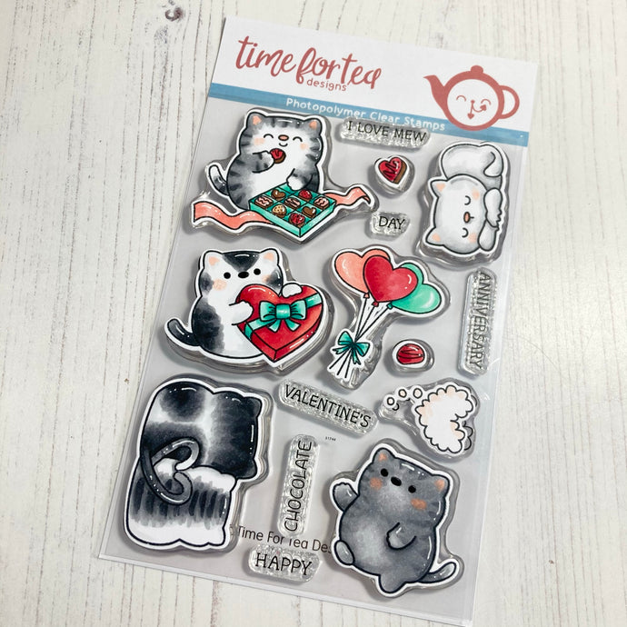 Smitten Kitten Clear Stamp Set