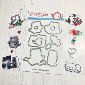 Smitten Kittens Coordinating Die set