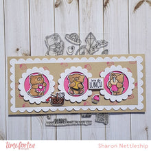 Load image into Gallery viewer, Bears Picnic Clear Stamp Set