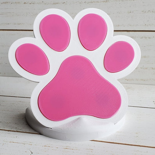 Paw Print Magnetic Die Holder
