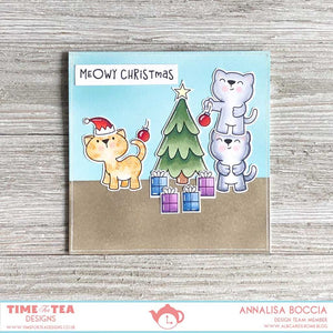 Pawsome Christmas Clear Stamp Set