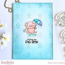 Load image into Gallery viewer, Hogs & Kisses Clear Stamp Set