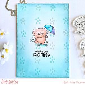 Hogs & Kisses Clear Stamp Set