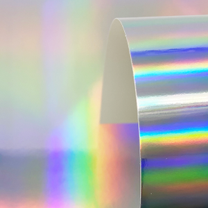 Holographic Cardstock -  Pack of 4