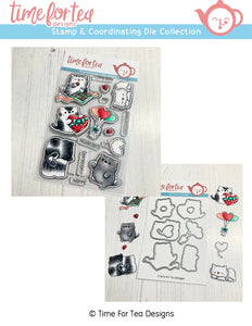 Smitten Kittens Stamp and Die Collection
