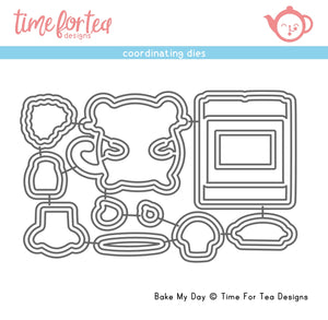 Bake My Day Coordinating Die set