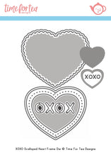 Load image into Gallery viewer, Small Heart XOXO Die Set