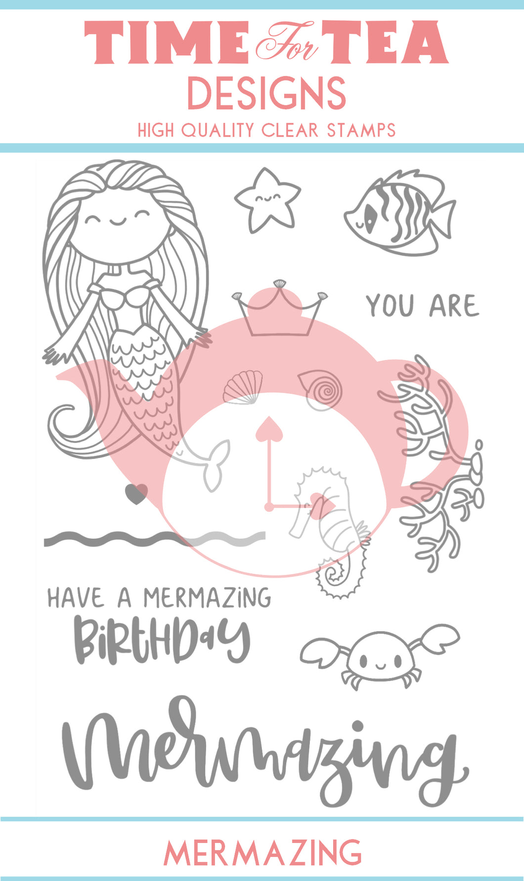 Mermazing Clear Stamp Set