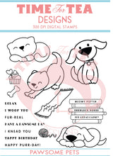 Load image into Gallery viewer, Pawsome Pets Digital Stamp Full Collection