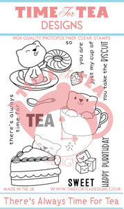 There's Always Time For Tea Clear Stamp Set