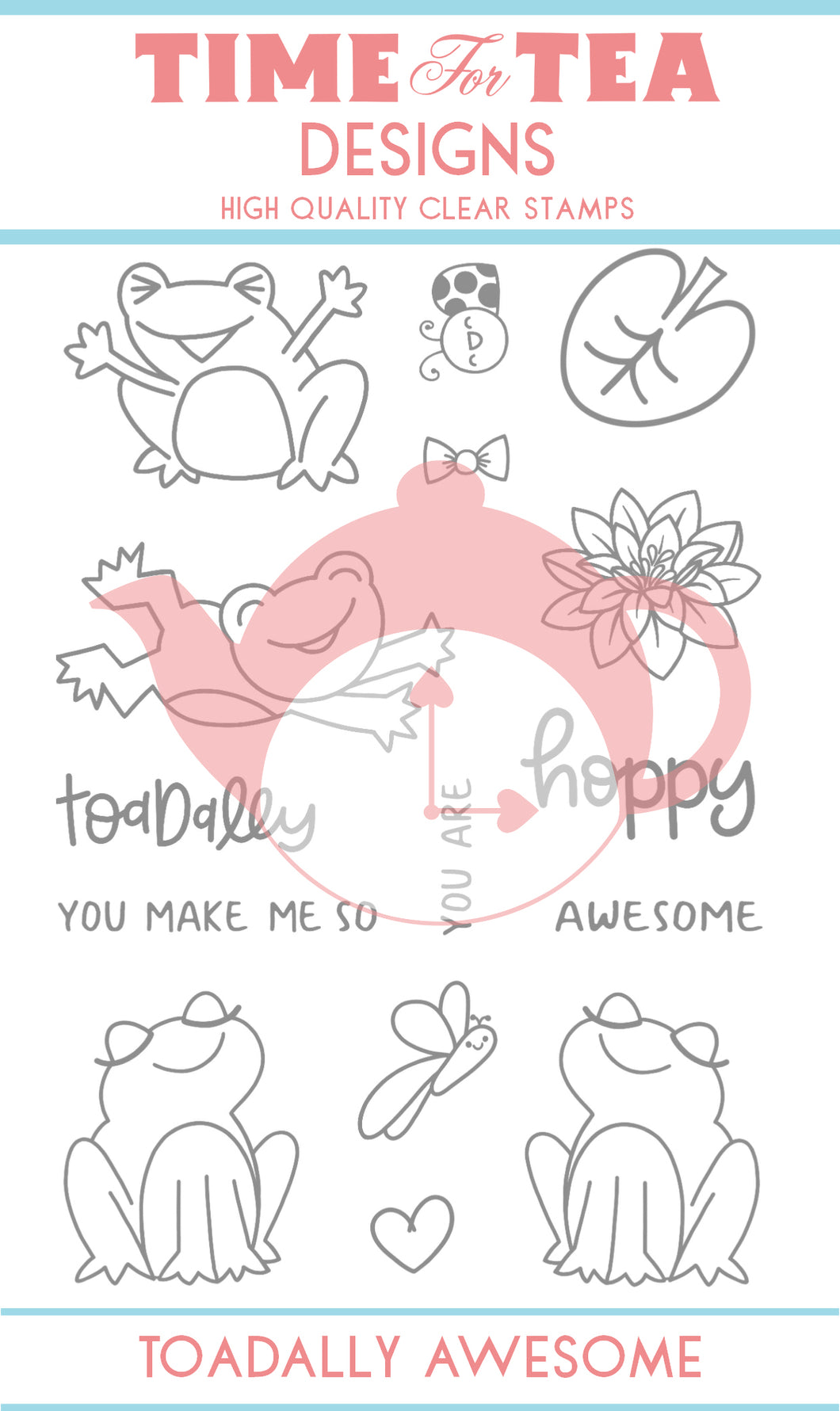 Toadally Awesome Clear Stamp Set