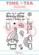 Load image into Gallery viewer, Beauty Sleep A7 Clear Stamp Set