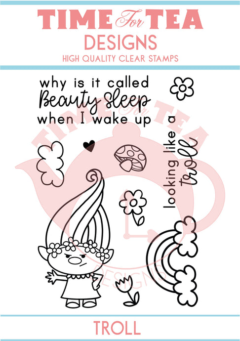 Beauty Sleep A7 Clear Stamp Set