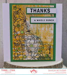 Thanks A Whole Bunch Clear Stamp Set