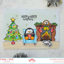Load image into Gallery viewer, Warm Winter Wishes Coordinating Die Set