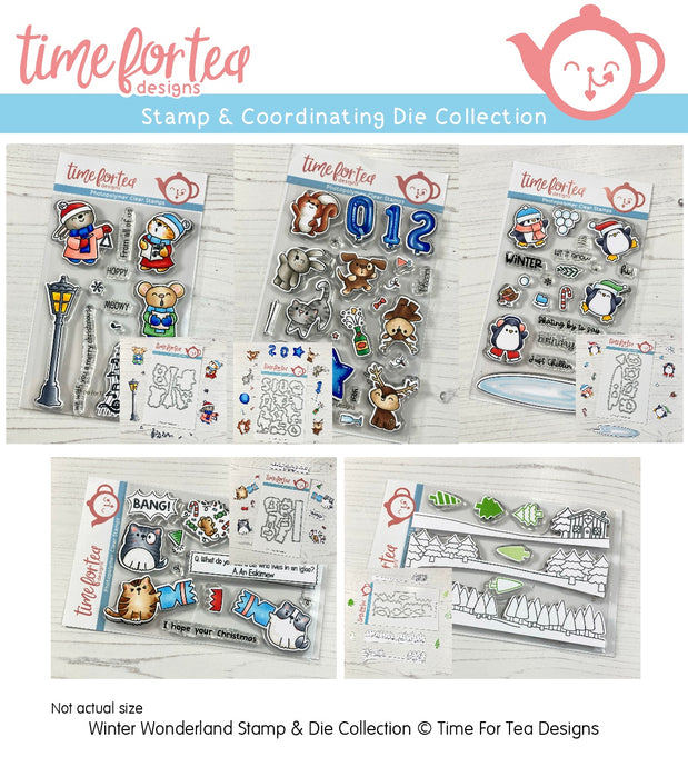 Winter Wonderland Stamp & Coordinating Die Full Collection
