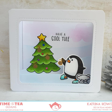 Load image into Gallery viewer, Warm Winter Wishes Clear Stamp Set