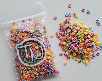 Wonka's Candy Jar Embellishment Mix