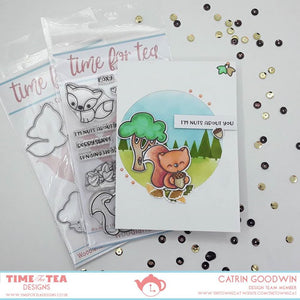 Woodland Critters Clear  Stamp Set