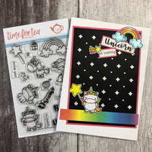 Load image into Gallery viewer, Unicorn In Training Clear Stamp Set