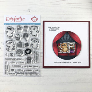 Bearing Gifts Clear Stamp Set