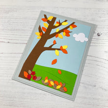 Load image into Gallery viewer, Autumn Scene Cover Plate Die