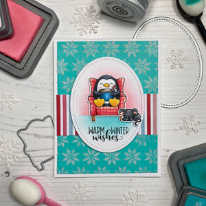 Warm Winter Wishes Clear Stamp Set