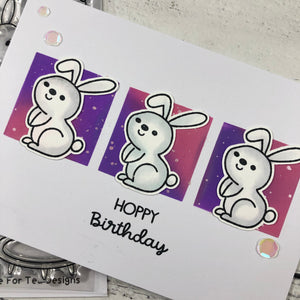 Hip Hop Hooray Clear Stamp Set