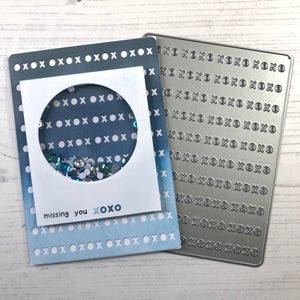 XOXO Cover Plate Die
