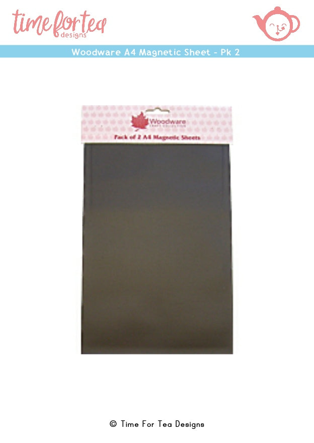Woodware A4 Magnetic Sheets