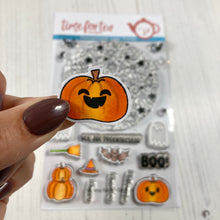 Load image into Gallery viewer, Spooktacular Clear Stamp Set