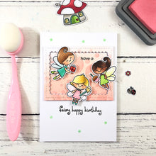 Load image into Gallery viewer, Fairy Garden Clear Stamp Set