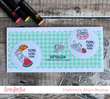 Load image into Gallery viewer, Treat Yourself Clear Stamp Set