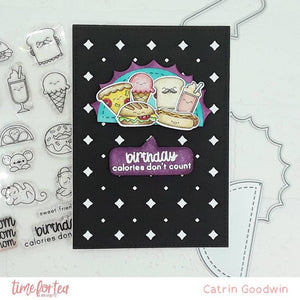 Speech Bubbles Clear Stamp Set