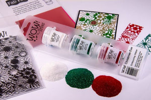 WOW Embossing Powder Trio Christmas Eve